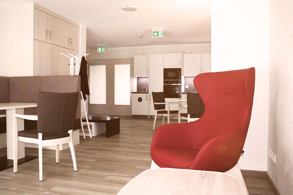 """Interior des """"Haus am Landgraben"""""""